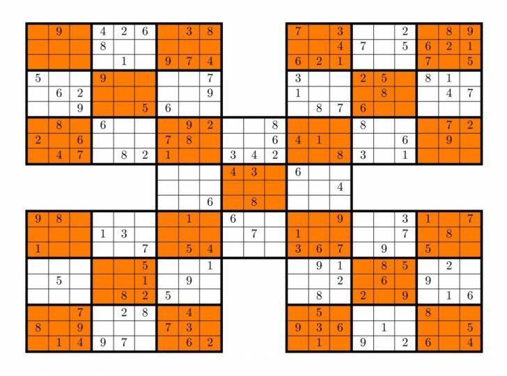 Printable Mega Sudoku 16X16