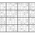 Tirpidz's Sudoku: #454 Classic Sudoku 16 X 16 | Printable Sudoku 16X16 Numbers