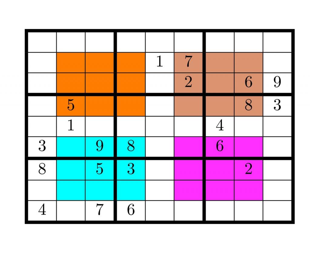Tirpidz's Sudoku: #465 Hyper Sudoku 9 X 9 | Printable Hyper Sudoku