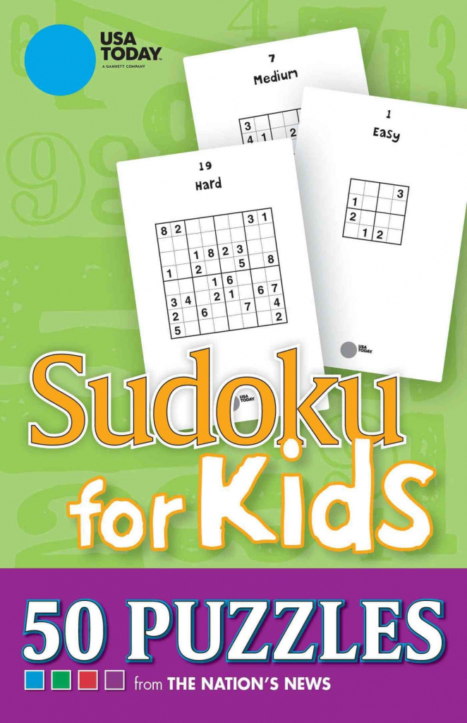 Usa Today Sudoku For Kids: 50 Puzzles From The Nation's News | Math | Printable Usa Today Sudoku Puzzles