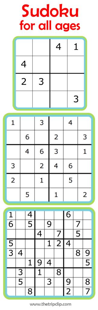 Week 7: Learning Math With Sudoku | Slimme Kleuters - Voor Kinderen | Free Printable Sudoku 9X9