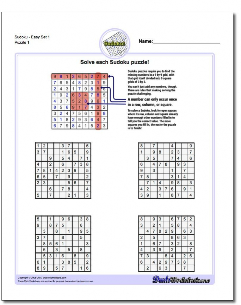 "When Learning Sudoku, ""easy"" In The Puzzle Description Is Definitely 