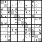 Word Sudoku   Under.bergdorfbib.co | Printable Sudoku Challenger Puzzles